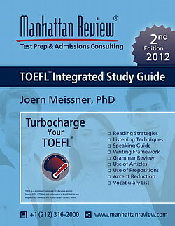 Manhattan Review TOEFL Integrated Study Guide